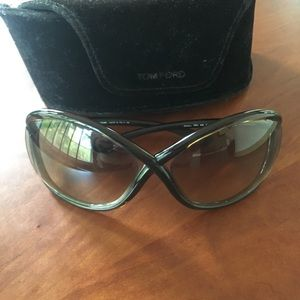 Tom Ford Whitney sunglasses brown lens and frame